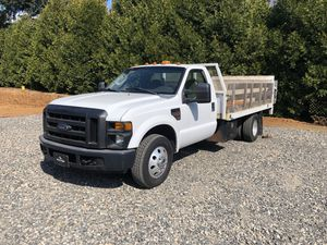 2008 Ford F-350 Super Duty - 6.4L Diesel - 12' Flatbed - Liftgate for Sale in Boring, OR