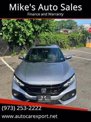 2018 Honda Civic Si Sedan for Sale in Garfield, NJ