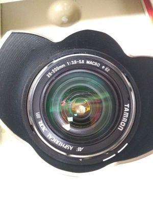 Tamron Canon Eos EF-S 28-200mm full frame DSLR digital SLR camera lens 5D 6D Mark II III IV V 2 3 4 5 for Sale in San Jose, CA