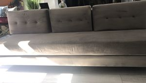 7ft Modern Sofa (NOT A FUTON) for Sale in Henderson, NV