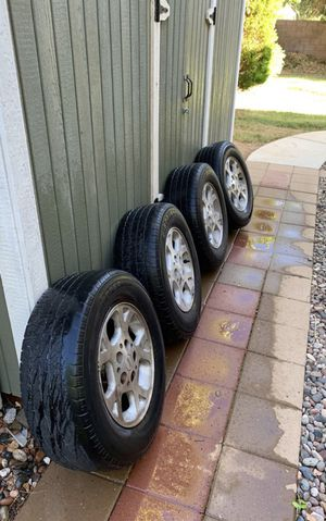 Jeep Grand Cherokee Wheels and Tires 16 inch for Sale in Gilbert, AZ