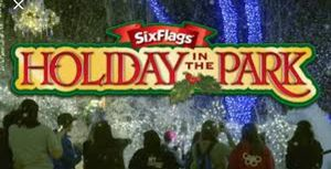 Six flags tickets for Holiday in the park for Sale in Glen Burnie, MD