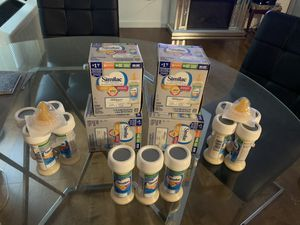 Similac pro sensitive Infant & 40+ newborn diapers for Sale in The Bronx, NY