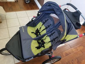 Baby Trend Expedition Double Jogging Stroller for Sale in Carrollton, TX