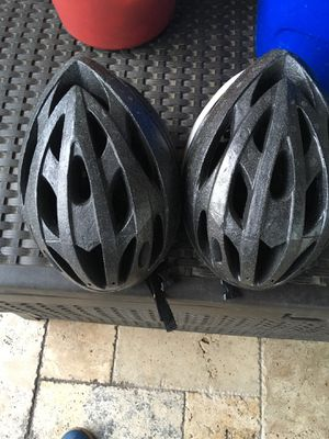Bike Helmets for Cycling or Mountain Bicycling - Missing Frame on Top for Trek Giant Specialized Huffy or Schwinn for Sale in Houston, TX