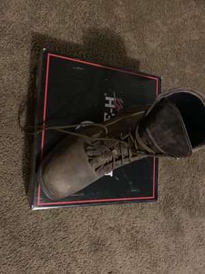 Double H steel toe boots for Sale in Bloomington, IL