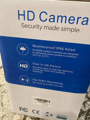 HD security camera system for Sale in Orlando, FL