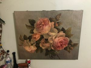 Rose painting for Sale in Lynwood, CA