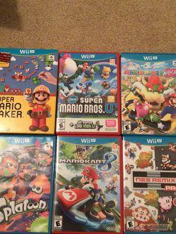 Nintendo Wii U Games for Sale in Duncanville,  TX