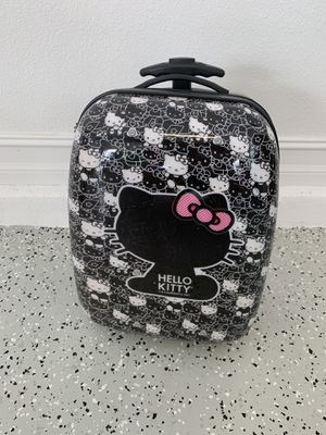 Hello Kitty suitcase with wheels for Sale in Lutz, FL