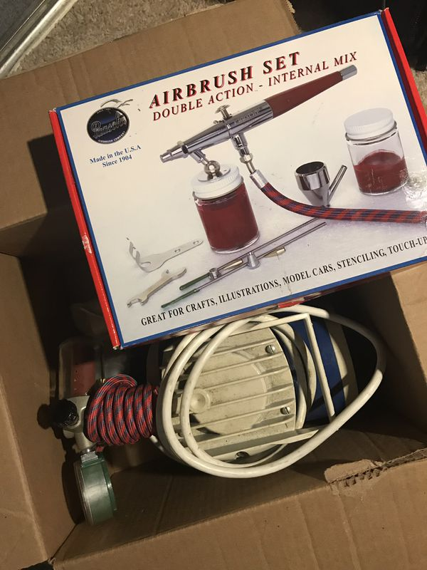 Air bush kit with compressor