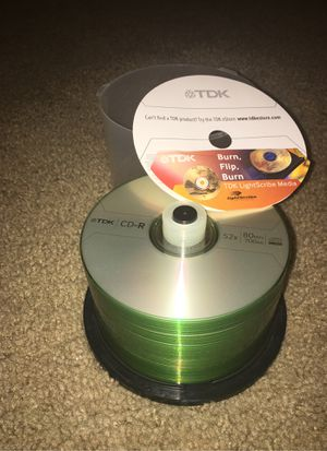 TDK LightScribe Media -45 discs for Sale in Littleton, CO