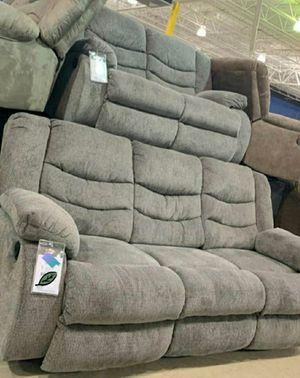 Tulen gray Reclining living room set for Sale in Laurel, MD