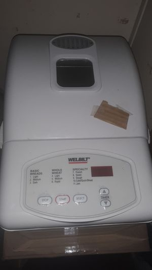WELBILT bread maker for Sale in Hanahan, SC