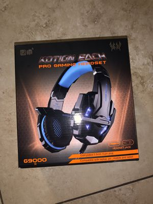 BENGOO G9000 Stereo Gaming Headset for PS4, PC, Xbox One Controller, Noise Cancelling for Sale in Phoenix, AZ