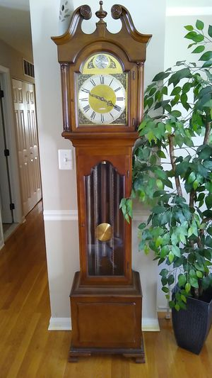 Tempus Fugit grandfather clock for Sale in Fort Washington, MD