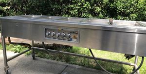 Electric steam table 5 pan for Sale in Norcross, GA