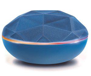 Blue Bluetooth Geo Diamond LED Mini Speaker for Sale in Irmo, SC