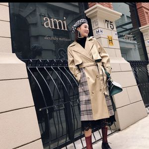 Spring Long Coat Woman plaid for Sale in Herndon, VA