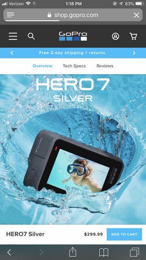 GoPro Hero7 Silver for Sale in Nashville, TN
