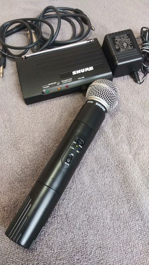 Shure sm58 wireless microphone for Sale in Los Angeles, CA