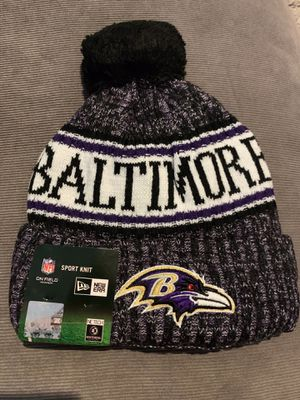 BALTIMORE RAVENS NFL NEW ERA BEANIE HAT BRAND NEW WITH TAGS for Sale in Baltimore, MD