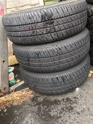 4x100 Steelies mint tires for Sale in Providence, RI