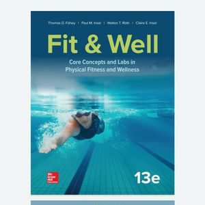 Fit & Well: Core Concepts and Labs in Physical Fitness and Wellness 13th Edition eBook PDF Free Instant Delivery for Sale in Pomona, CA