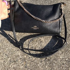 Black And Gold Coach Crossbody for Sale in Columbus, OH