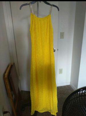 Long luxury yellow dress for Sale in La Vergne, TN