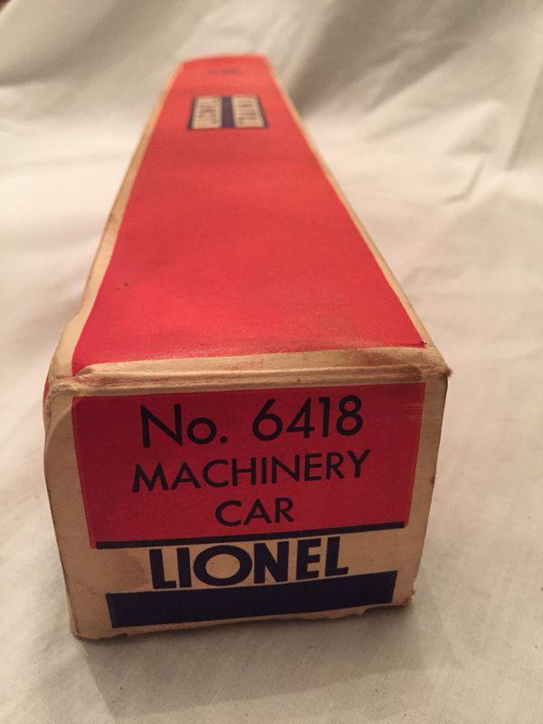 1950s Lionel Machinery Car