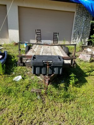18' HD Flatbed Trailer for Sale in Naples, FL