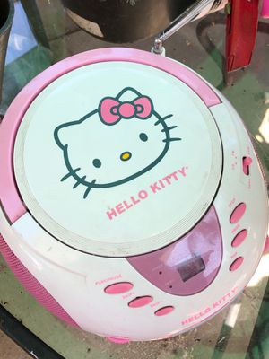 Hello kitty CD player and radio for Sale in Santa Ana, CA