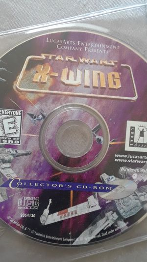 Star wars pc computer compact disc games collector's edition all classic items no scratches all brand new condition for Sale in Washington, DC