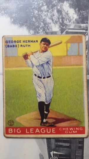 -vintage old baseball-card- SHIPPING ONLY THROUGH OFFERUP SHIPPING LABEL 🛫 for Sale in Beverly Hills, CA