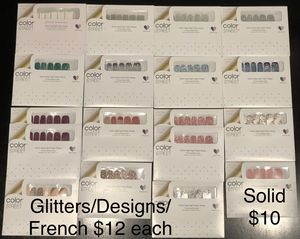 Color Street Nail Strips ($12 each) for Sale in Indianapolis, IN