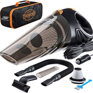 Portable Car Vacuum Cleaner: High Power Corded Handheld Vacuum w/ 16 foot cable - 12V - Best Car & Auto Accessories Kit for Detailing and Cleaning Car for Sale in Columbia, SC