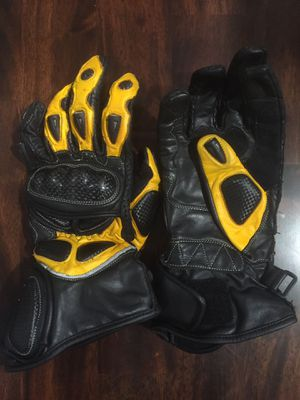 Motorcycle Leather Gloves. Size M. for Sale in Manassas, VA