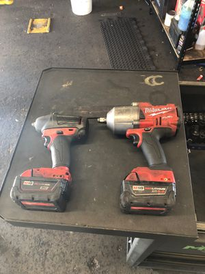 """Milwaukee 1/2"""" impact and 3/8 impact for Sale in Dade City, FL"""