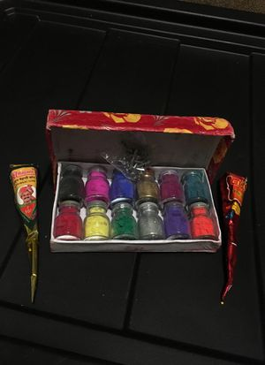 Indian henna and shimmer powder set for Sale in Escondido, CA