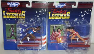 STARTING LINEUP TIMELESS LEGENDS 1996 EDITION Florence Griffith-Joyner & Jackie Joyner-Kersee for Sale in Lakewood, WA