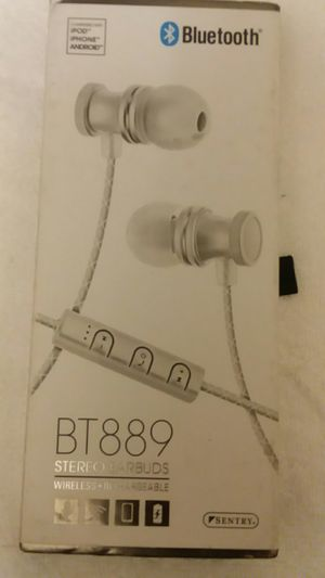 Sentry Bluetooth headset - wireless, rechargeable, earbuds for Sale in Jacksonville, FL