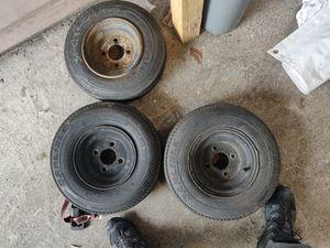 4 lug Trailer tires for Sale in Bonney Lake, WA