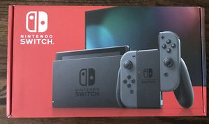 Nintendo Switch with grey joy-con HAC-001(-01) for Sale in Staten Island, NY