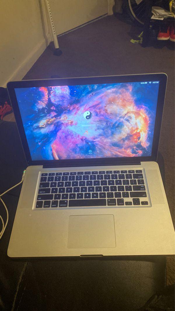 Mac book pro 2012