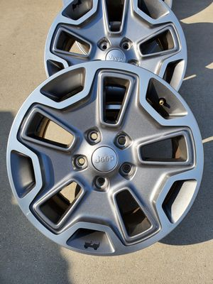 Jeep Rubicon wheels for Sale in Fort Mohave, AZ