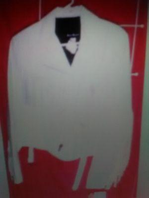 New white fringe jacket for Sale in Omaha, NE