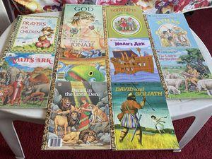 Little Golden Books 10 piece set of Religious Books for Sale in Cambridge, MA