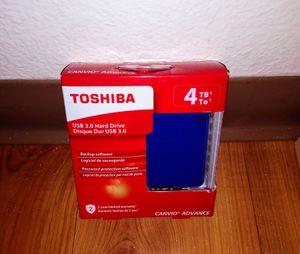 Brand new Toshiba external hard drive 4tb for Sale in Santa Clara, CA