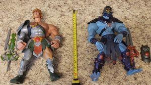 "Set of 2 Mattel Masters Universe MOTU 200x GIANT 12"" Figures Skeletor He-Man for Sale in Aurora, CO"